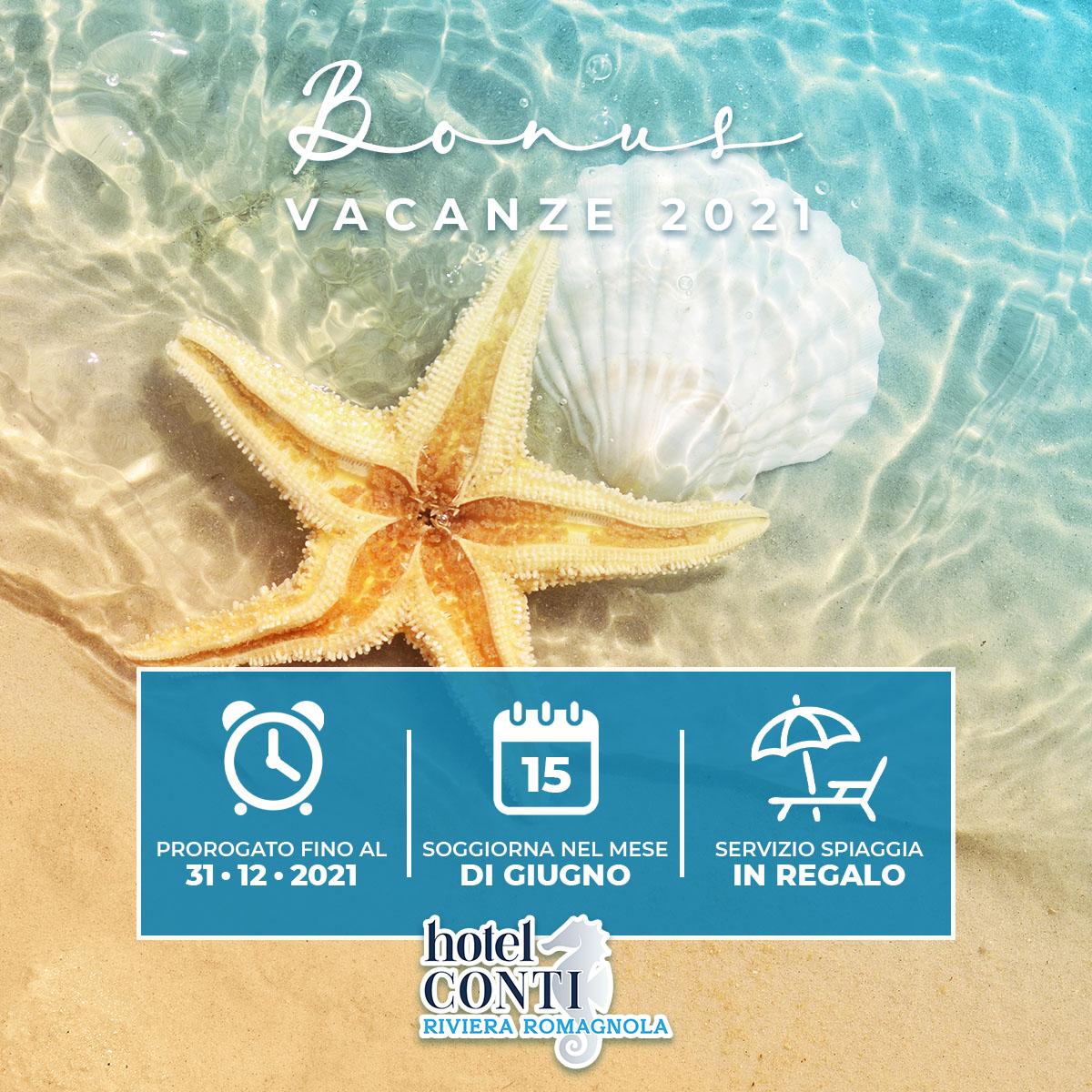 proroga bonus vacanze 2021
