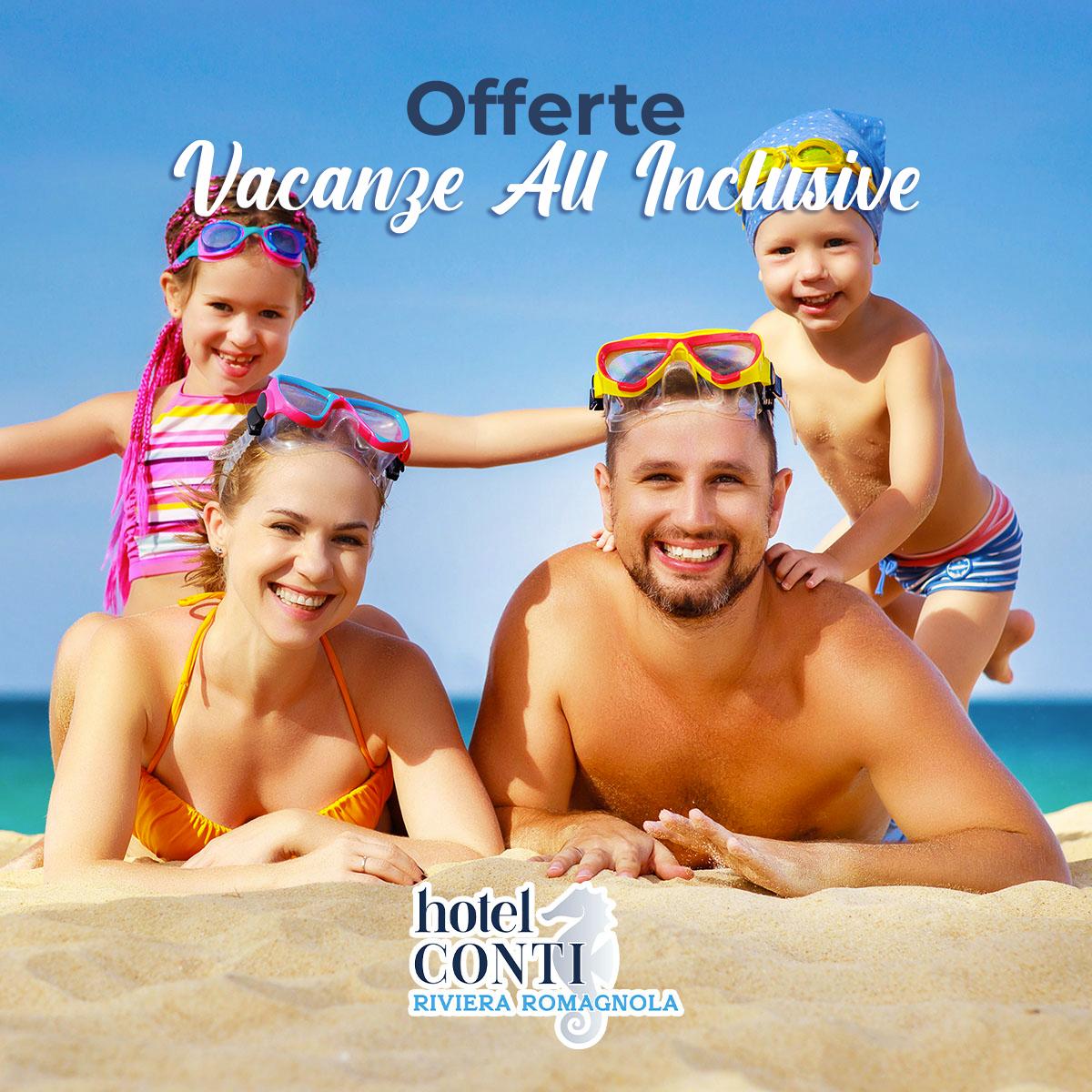 Promozioni settimanali All inclusive in Romagna