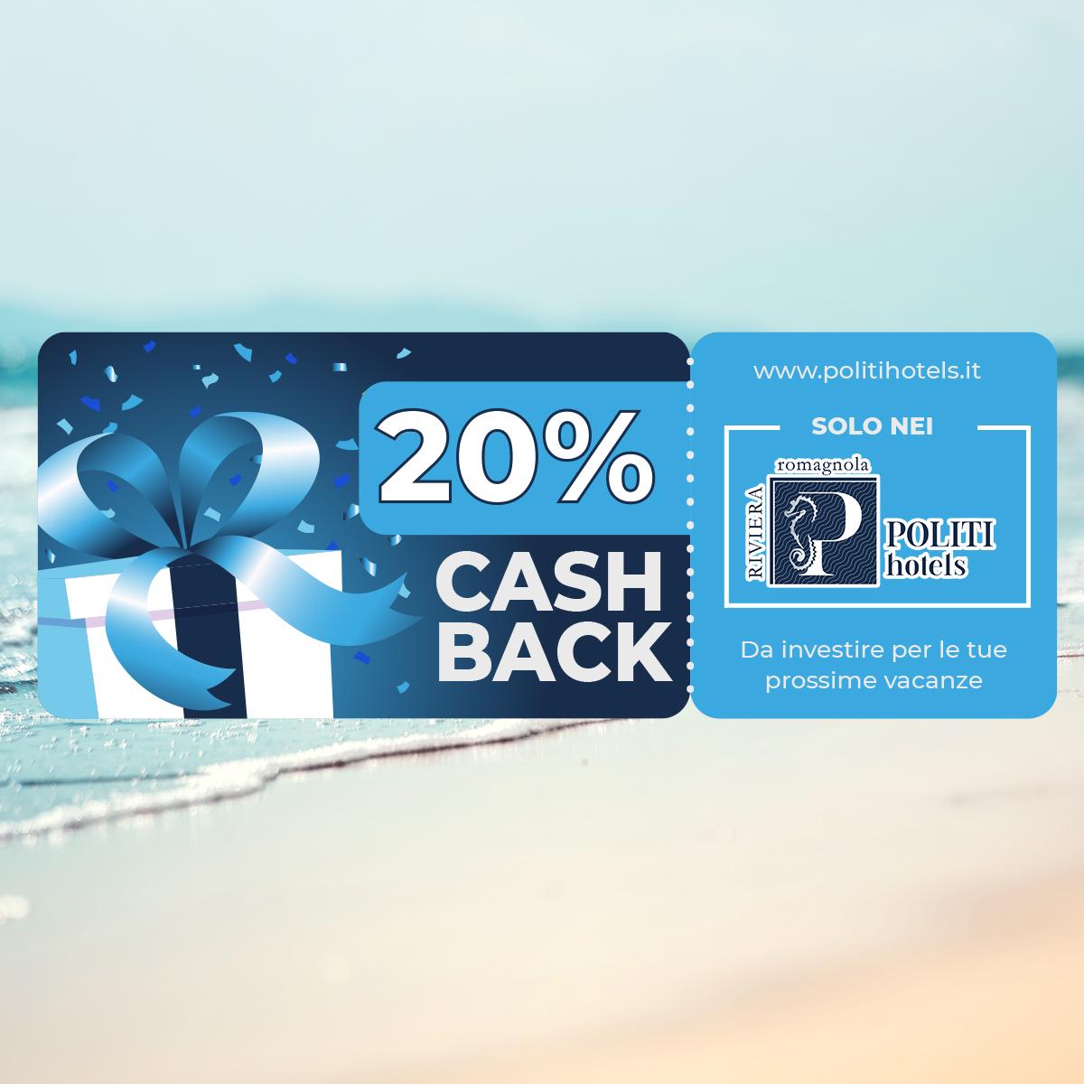 Offerta Cashback in Vacanza