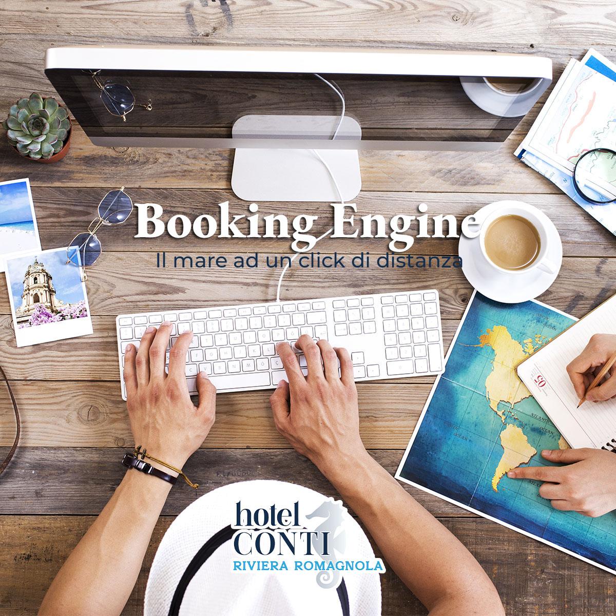 Booking Engine disponibile ora!